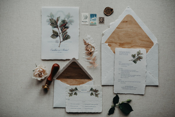 Editorial Shoot Featured in The High Country Wedding Guide